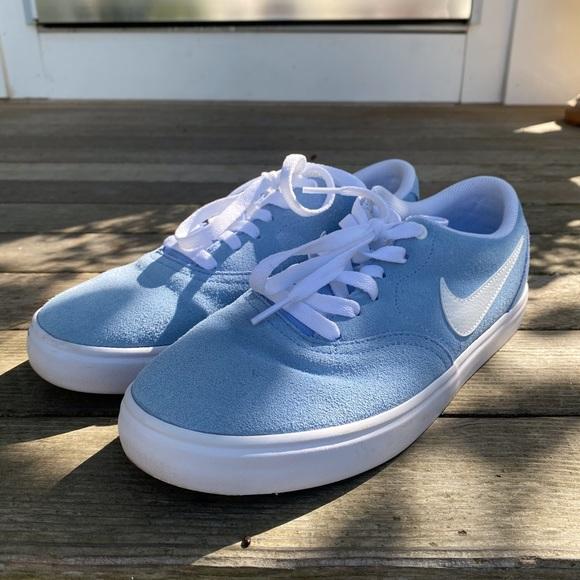 Nike Shoes | Nike Sb Baby Blue Sneakers